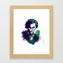 BrandonLEE Framed Art Print