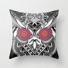 The Random Dimension Throw Pillow