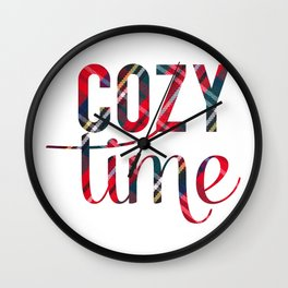 Cozy Time Wall Clock