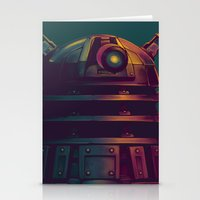 dalek Stationery Cards featuring Dalek by KiloWhat