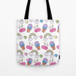 Kawaii Ice Cream Tote Bag