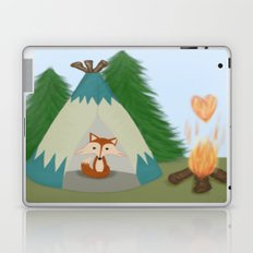 The Lone Fox  Laptop & iPad Skin