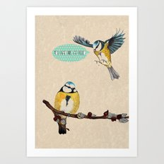 You Had Me At Hello Art Print
