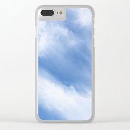Cirrus Cloud streams Clear iPhone Case