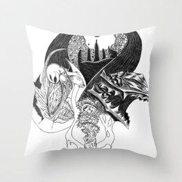 Berkerk Throw Pillow