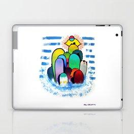 Lady Land Laptop & iPad Skin