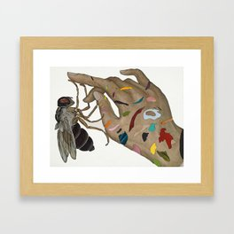 """""""It was my botfly"""" by Jason Holley for Nautilus Framed Art Print"""