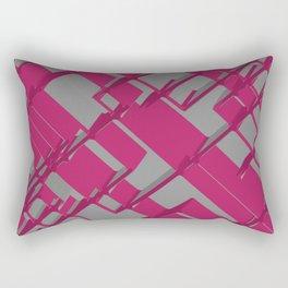 3D Futuristic BG Rectangular Pillow