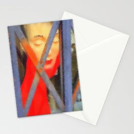 Kuhl's Kit Kat Klub: Coco Was Trapped In The Elevator Again! Stationery Cards