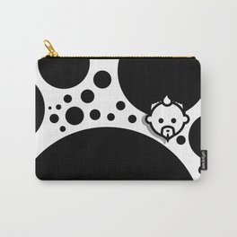 Bubble Black by JC LOGAN for SB Carry-All Pouch