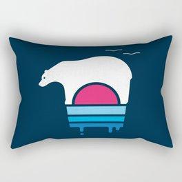 Polar Melt Rectangular Pillow