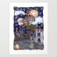 Time Bandit Art Print