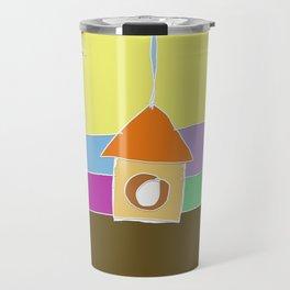 birdhouse Travel Mug