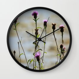 Highland Thistle Wall Clock