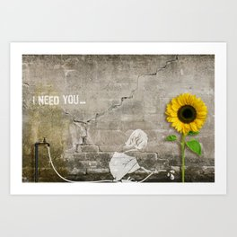 I need You Art Print