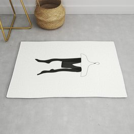 Tights — modern artprints, abstract illustrations, lowpoly designs Rug