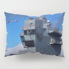 HMS Prince of Wales Aft Island Pillow Sham