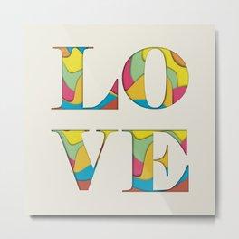 Simply love Metal Print