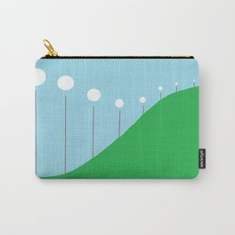 Abstract Landscape - Lights on the Hill Carry-All Pouch