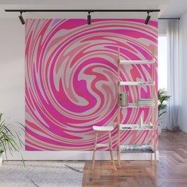 Candy Floss Swirl Wall Mural