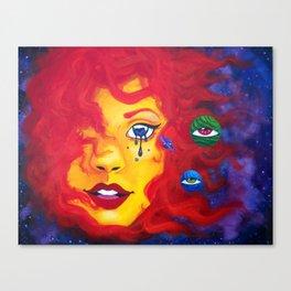 La Madre Sol Canvas Print