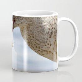 Watercolor Bird, Willet 08, Eating Rusty Crayfish, Longmont, Colorado, Crustacean Dreams Coffee Mug