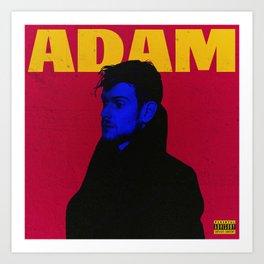 Starboy x Adam Hann Art Print
