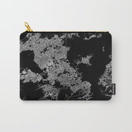 Rio map Brazil Carry-All Pouch