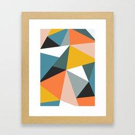 Modern Geometric 36 Framed Art Print