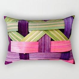 Basket Weave Rectangular Pillow