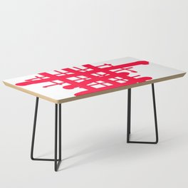 RED check Coffee Table
