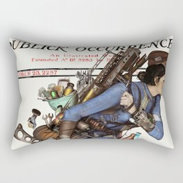 Junktown Vendor Rectangular Pillow