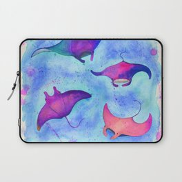 Neon Mantas Laptop Sleeve