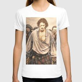 Culloden color (Outlander) Original artwork T-shirt