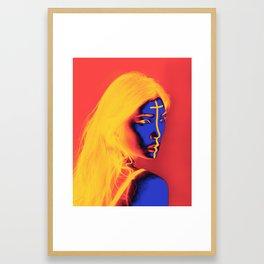 Zina Framed Art Print