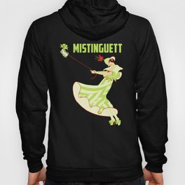 Mistinguett and her fluffy dog Hoody