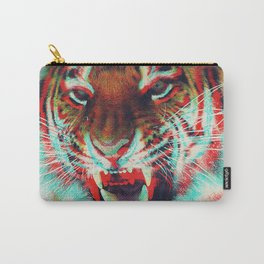 3D Tiger Carry-All Pouch