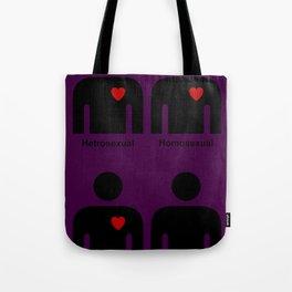 HEARTLESS HOMOPHOBE Tote Bag