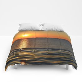 Super Sunset at the Beach Comforters