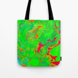 Green Flow Tote Bag