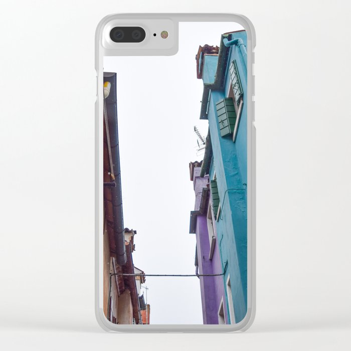 Urban Color Clear iPhone Case