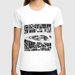 Île de la Cité. Paris T-shirt