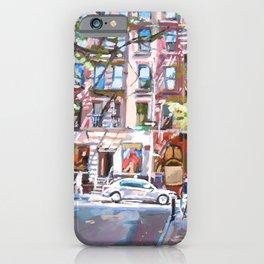 Minetta Lane, Greenwich Village iPhone Case