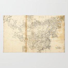 Map of China Chinese-Tartary & Tibet (1834) Rug