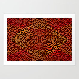 Colorandblack serie 157 Art Print