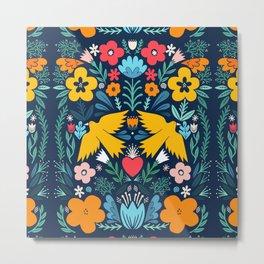 bird garden Metal Print