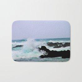 Waves at Cambria Bath Mat