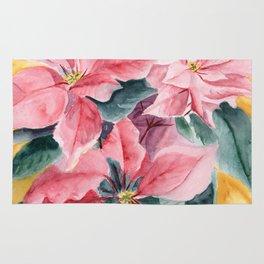 Poinsettia Rug