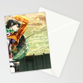 Captain Levi Attack on Titan Shingek Stationery Cards