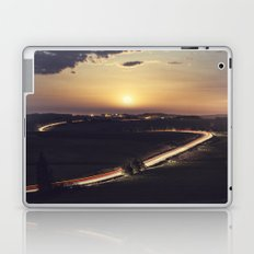 Driving to the Moon Laptop & iPad Skin